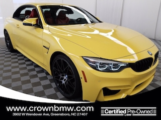2018 BMW M4 Convertible in [Company City]