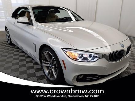 2016 BMW 428 convertible