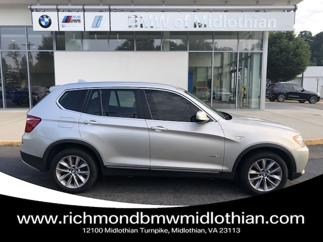 Used 2014 Bmw X3 Xdrive28i For Sale Midlothian Va E0d42203