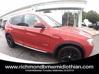 2015 BMW X3 xDrive28i SAV in [Company City]