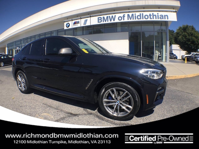 2019 BMW X4 M40i Sports Activity Coupe in [Company City]