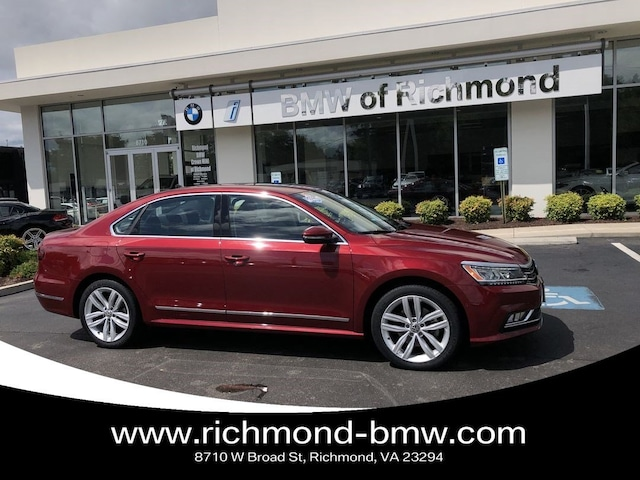 Used 2018 Volkswagen Passat 3 6L V6 SEL Premium For Sale