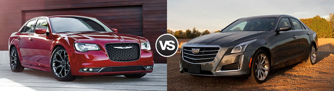 Compare 2016 Chrysler 300 vs Cadillac CTS