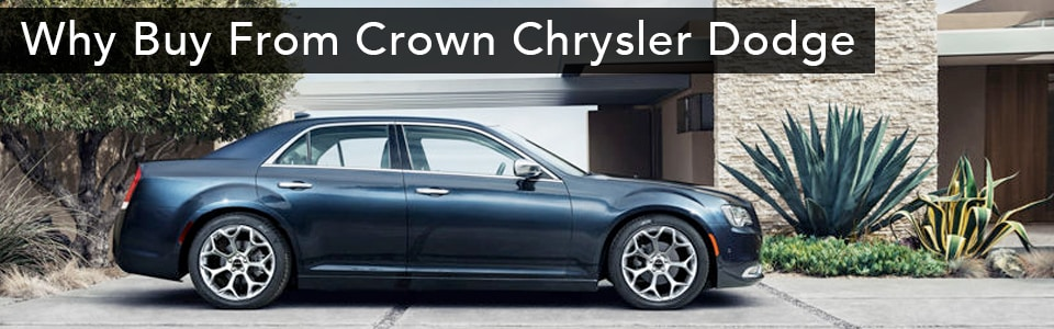 Why Buy Crown Chrysler