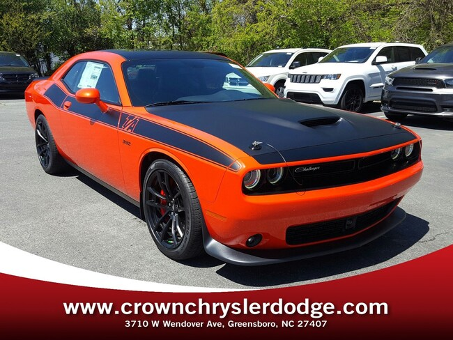 New 2018 Dodge Challenger R T 392 For Sale In Greensboro Nc