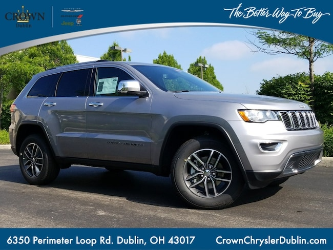 2018 Jeep Grand Cherokee Limited 4x4 Sport Utility