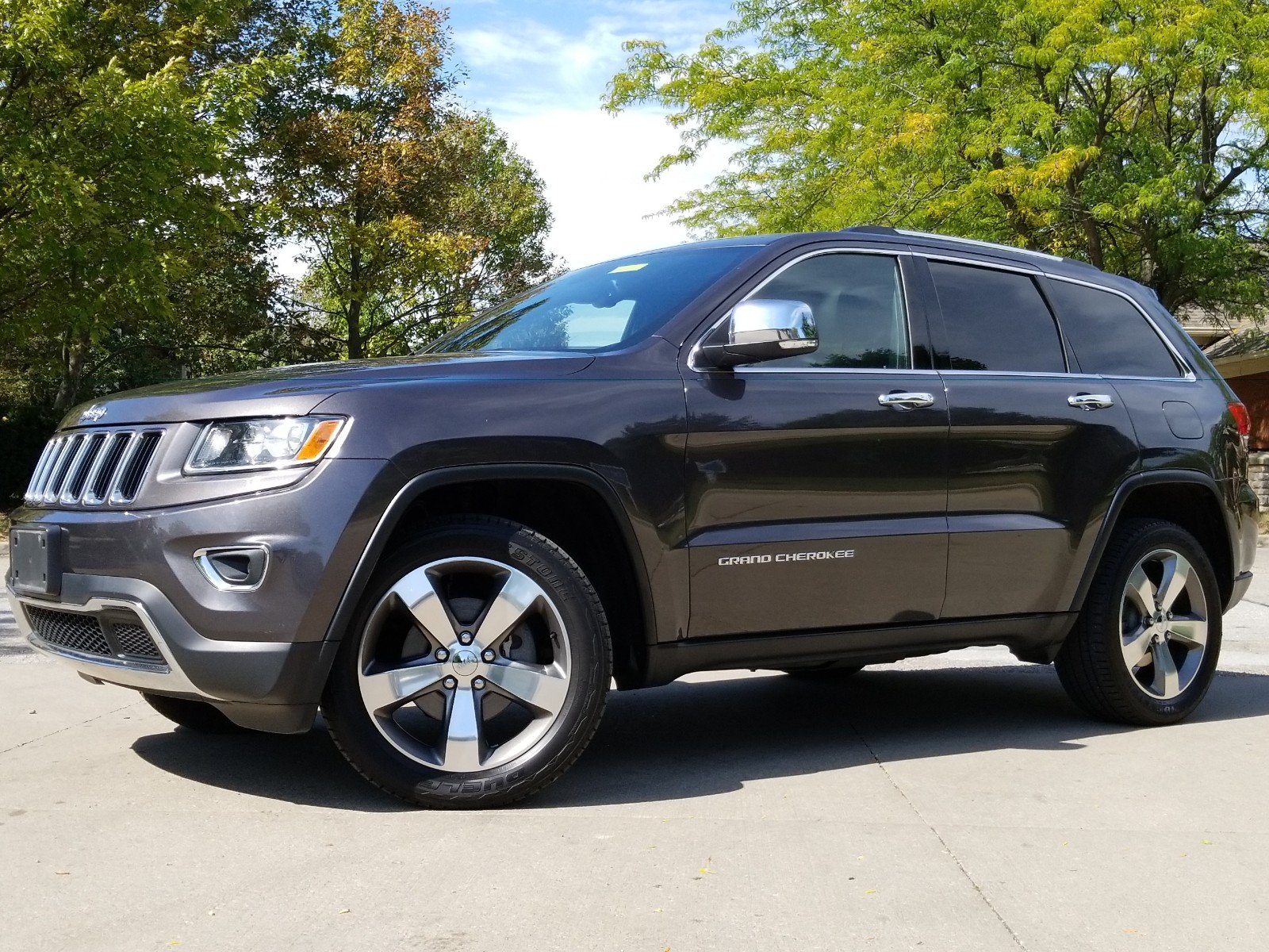 2015 Jeep Grand Cherokee Limited 4WD  Limited
