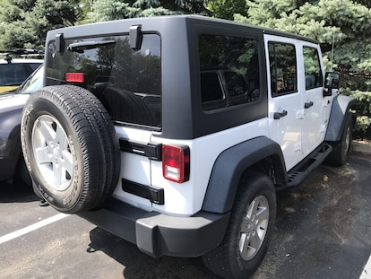 Used 2013 Jeep Wrangler Unlimited For Sale at Crown Chrysler