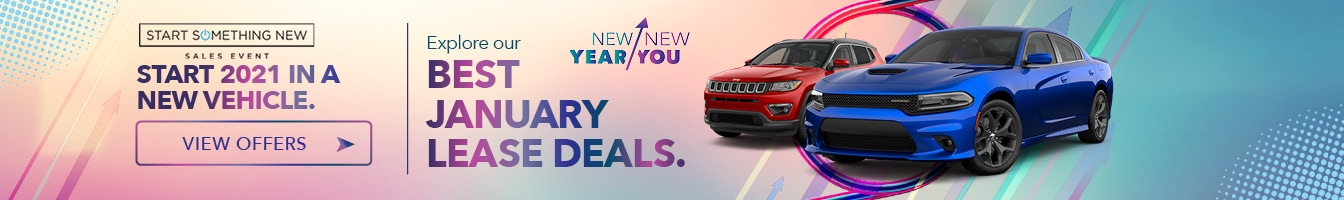 New Vehicle Lease Specials at Crown Dodge Chrysler Jeep Ram