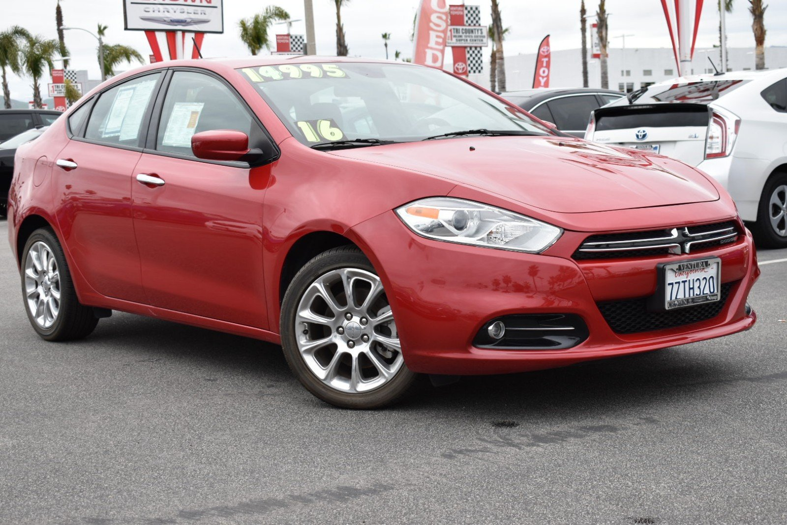 Dodge Dart Tire Size >> Used 2016 Dodge Dart In Ventura Ca For Sale
