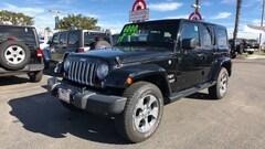 2017 Jeep Wrangler JK Sahara 4x4 4 Door Wrangler