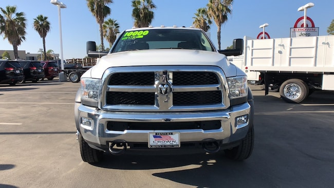 2017 Ram 5500 Chassis TRADESMAN CHASSIS CREW CAB 4X4 197.4 WB Crew Cab