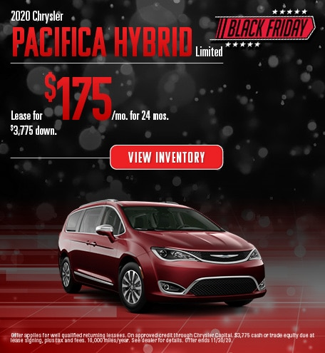 Chrysler Pacifica Hybrid Limited Lease Special Offer