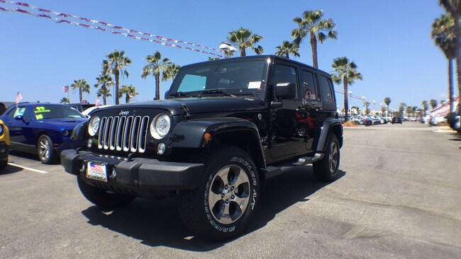 2018 Jeep Wrangler JK WRANGLER JK UNLIMITED SAHARA 4X4 4 Door Wrangler