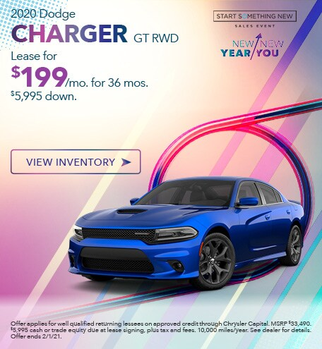 Dodge Charger GT Lease Special Offer