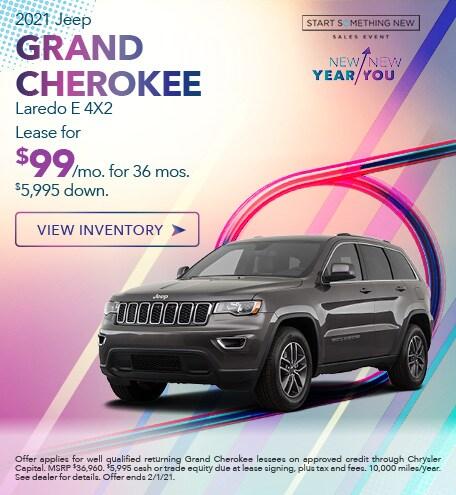 Jeep Grand Cherokee Laredo E Lease Special Offer