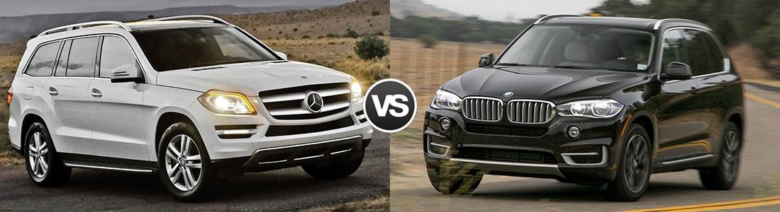 Compare the 2015 Mercedes-Benz ML350 vs BMW X5
