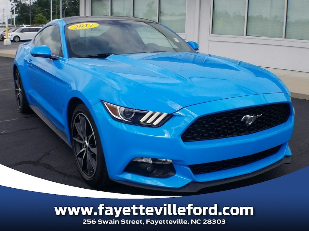Used 2017 ford mustang ecoboost premium for sale greensboro nc h5258227