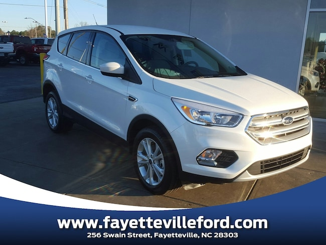 Ford Fayetteville Nc >> New 2019 Ford Escape For Sale At Crown Ford Fayetteville Vin
