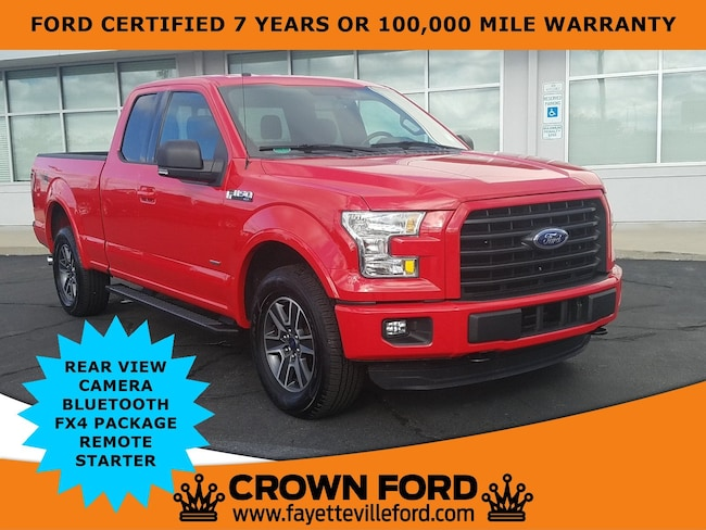 2015 Ford F-150 XLT Truck SuperCab Styleside