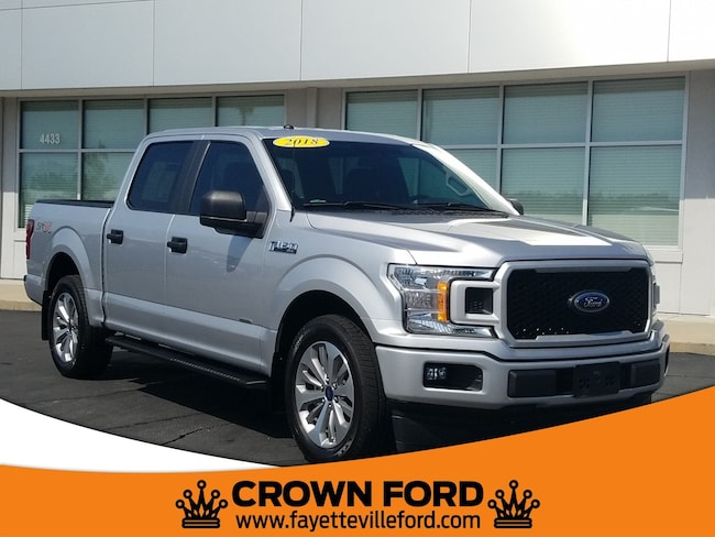 2018 Ford F-150 XL STX Truck SuperCrew Cab