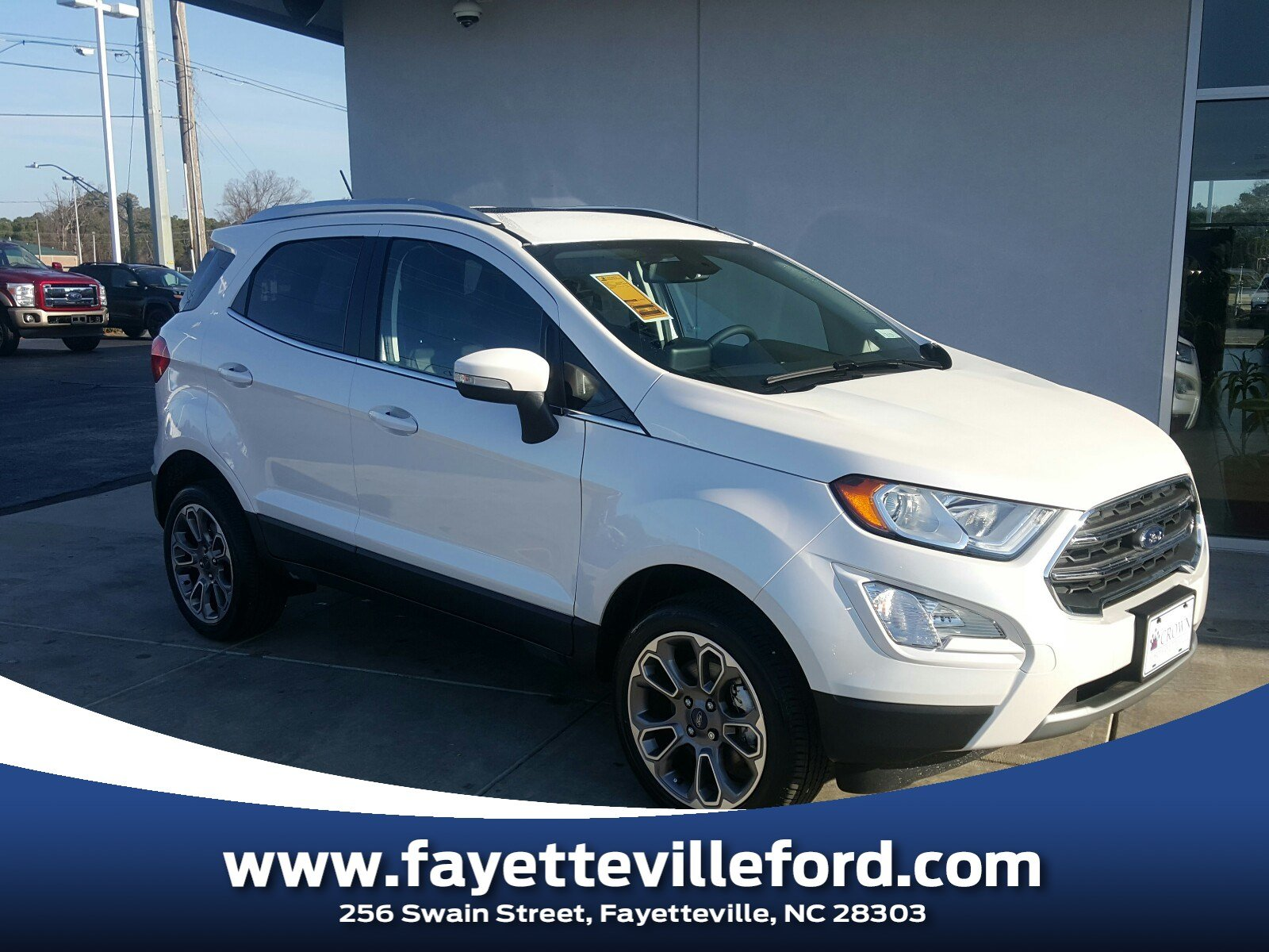 Ford Fayetteville Nc >> Crown Ford Fayetteville Featured New Vehicles North Carolina