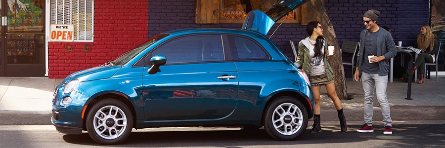 Differences between the 2015 FIAT® 500 Trims