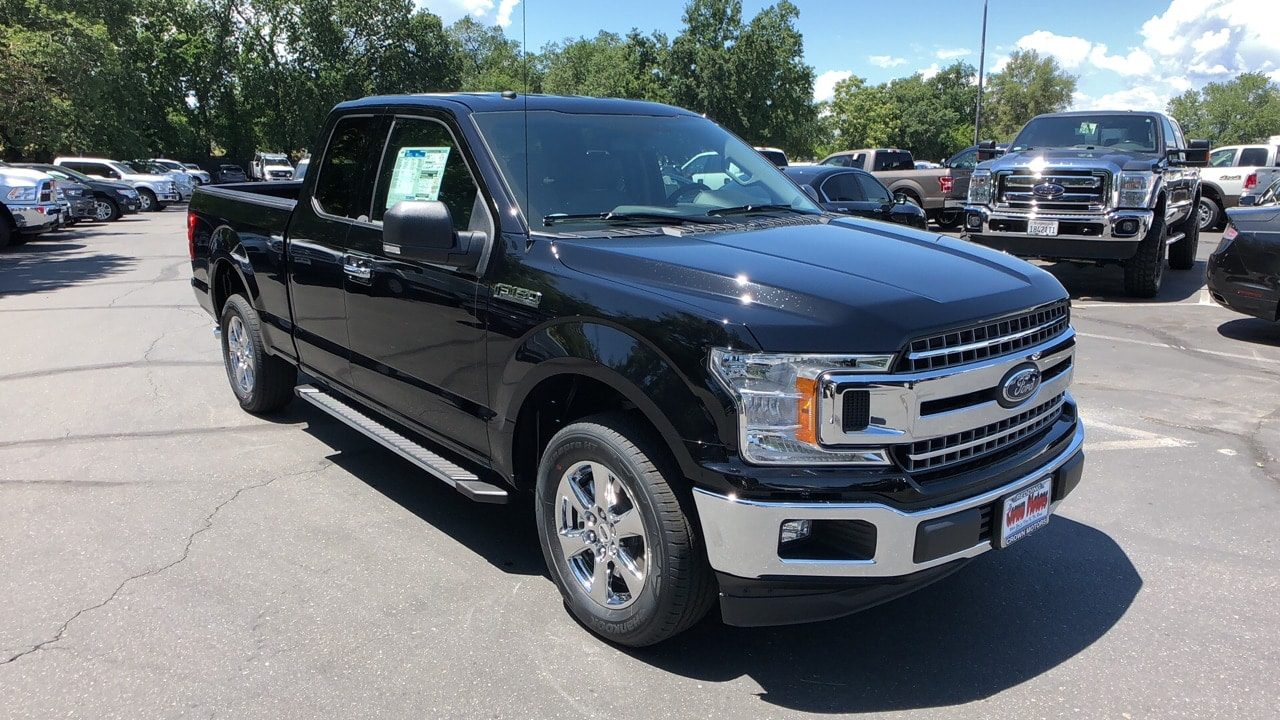 2018 Ford F-150 S/CAB XLT 145