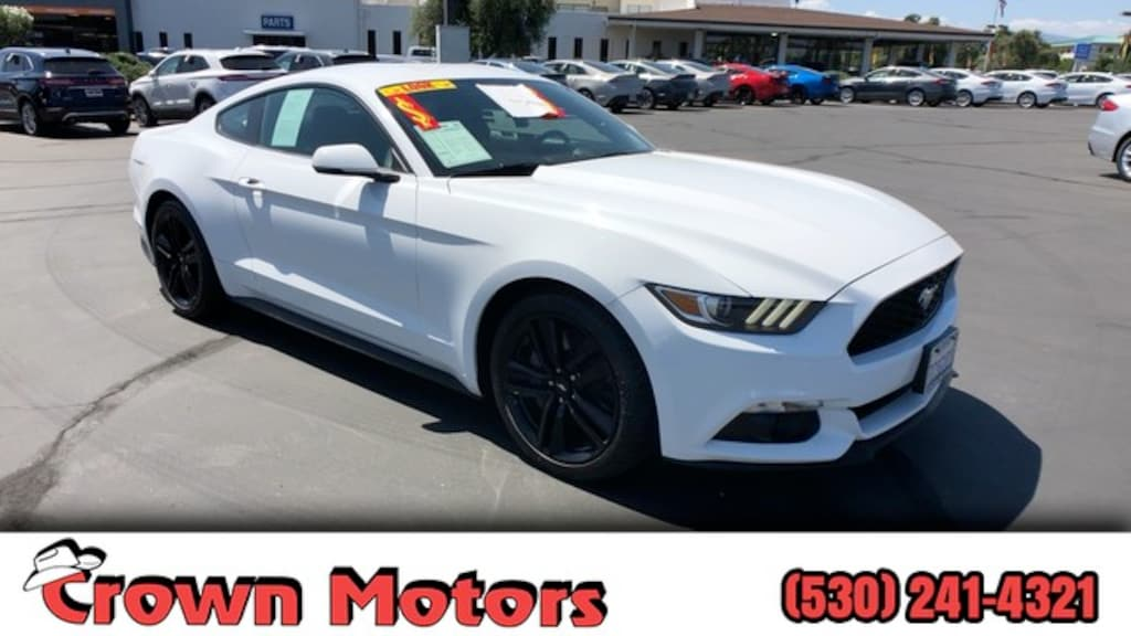 Used 2017 Ford Mustang For Sale | Redding CA 1FA6P8TH5H5237657