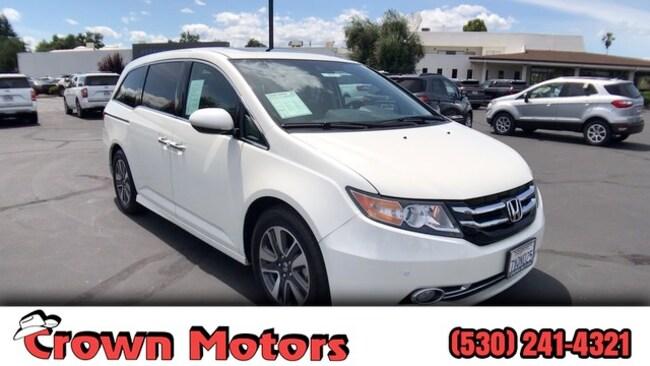 2017 Honda Odyssey Touring Elite Van