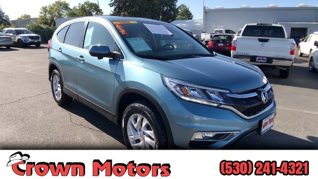 Crown Motors Redding >> Used 2016 Honda Cr V For Sale At Crown Motors Vin