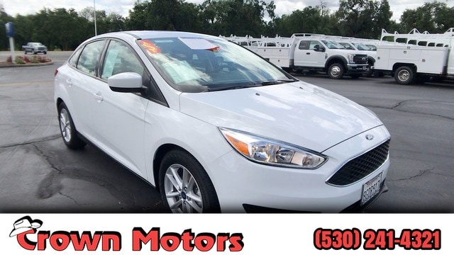 Crown Motors Redding >> Used 2018 Ford Focus For Sale At Crown Motors Vin