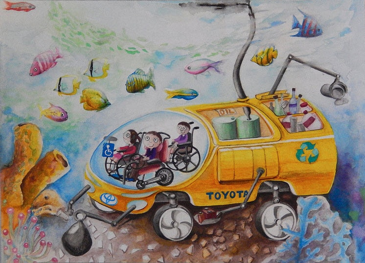 Toyota Oil Change Coupons >> Toyota Announces Kids Dream Car Art Contest Winners