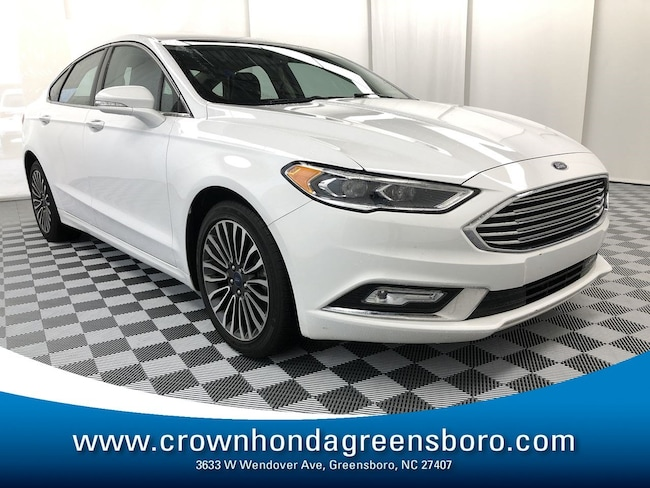 Used 2017 Ford Fusion For Sale at Crown Ford Fayetteville