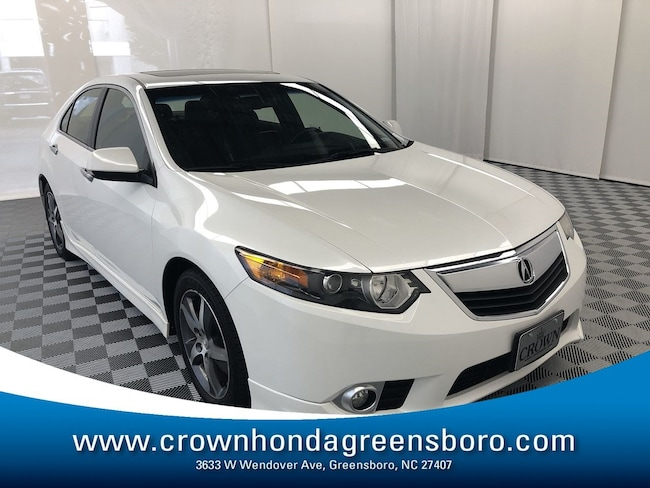 Used 2013 Acura TSX For Sale at Crown Honda of Greensboro