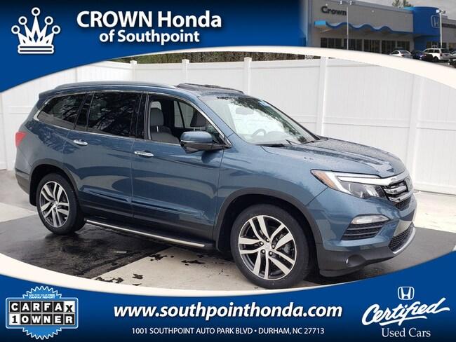 Crown Honda Greensboro Nc >> Used 2018 Honda Pilot For Sale at Crown Acura | VIN ...