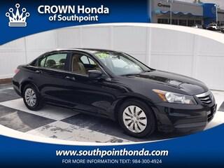 2011 Honda Accord 2.4 LX Sedan