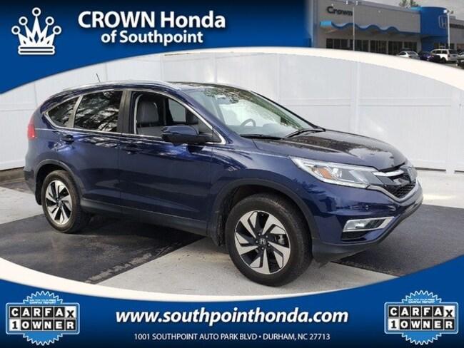 2016 Honda CR-V Touring AWD SUV