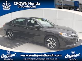 2017 Honda Accord LX Sedan