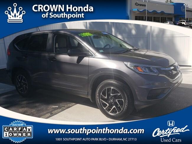 2016 Honda CR-V SE FWD SUV