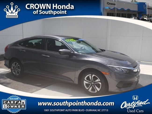 2017 Honda Civic LX Sedan