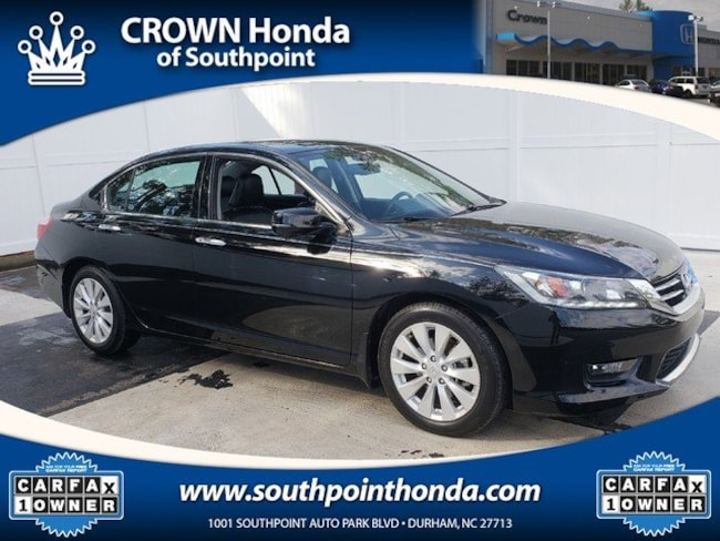 2014 Honda Accord EX-L V-6 w/Navigation Sedan