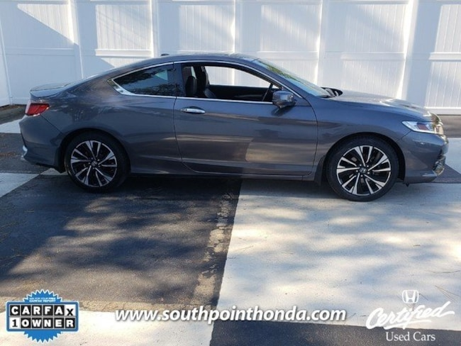 Certified Used 2017 Honda Accord Ex L V6 For Sale In Greensboro Nc