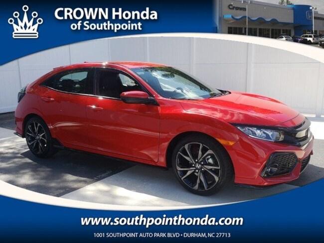 2018 Honda Civic Sport Hatchback