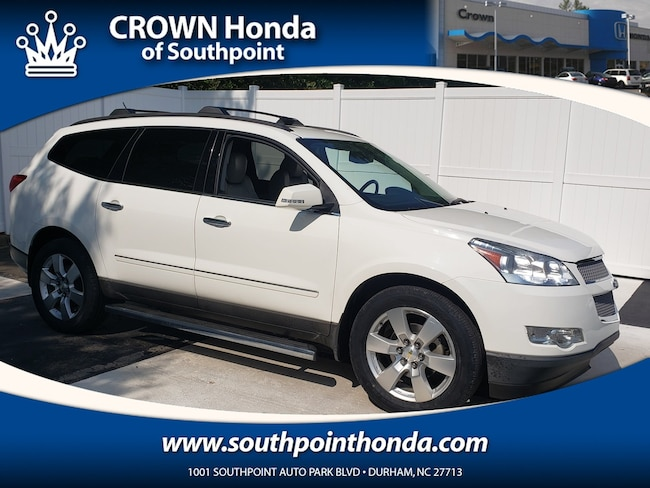 Used 2012 Chevrolet Traverse For Sale at Crown Ford