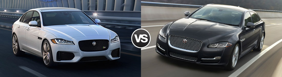 compare the 2016 jaguar xj vs jaguar xf