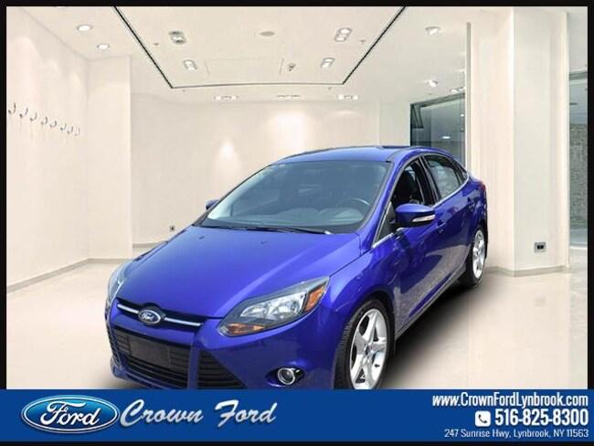 2013 Ford Focus Sdn Titanium Car