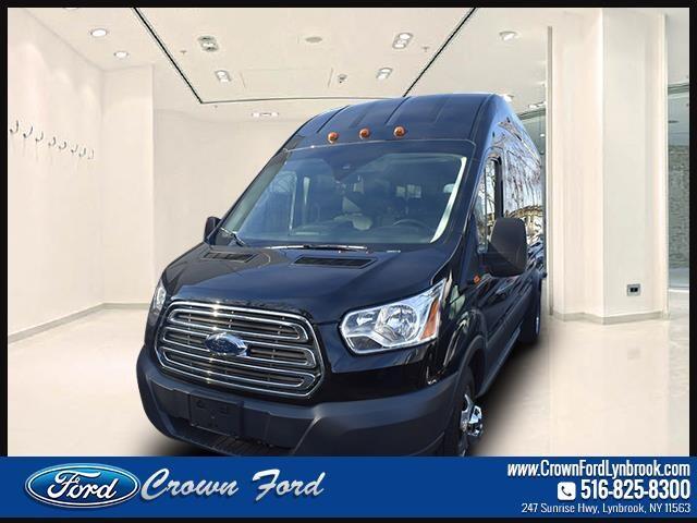 2018 Ford Transit Passenger Wagon T-350 148 EL High Roof XLT Sliding RH Dr DRW Full-size Passenger Van