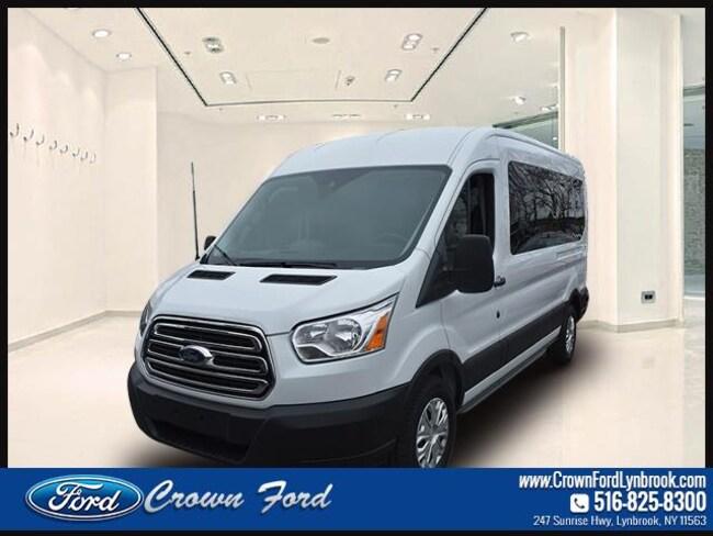 2019 Ford Transit Passenger Wagon T-350 148 Med Roof XLT Sliding RH Dr Full-size Passenger Van