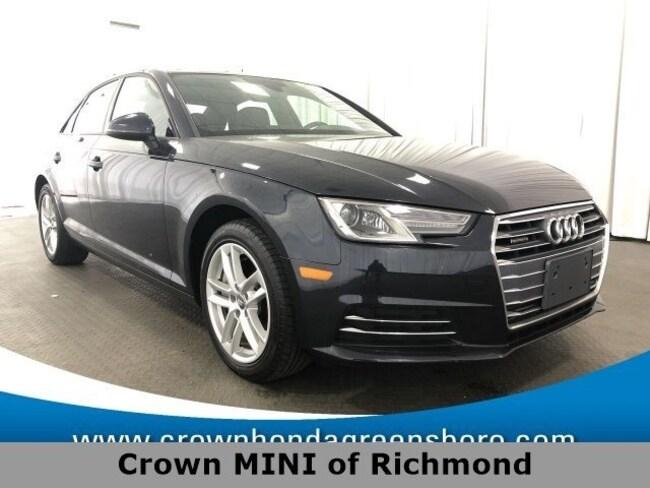 Audi Richmond Va >> Used 2017 Audi A4 2 0t Premium For Sale Richmond Va Stock